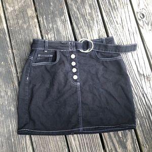 BDG Denim Mini Skirt
